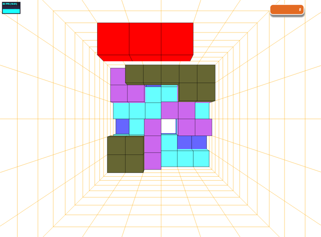 3D-Tetris mit three.js