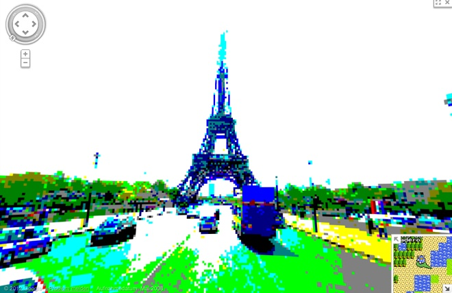 8Bit Google Streetview